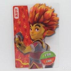 Trading Cards: GORMITI ACTION CARDS DE PANINI - Nº 003 RIFF. Lote 222376820
