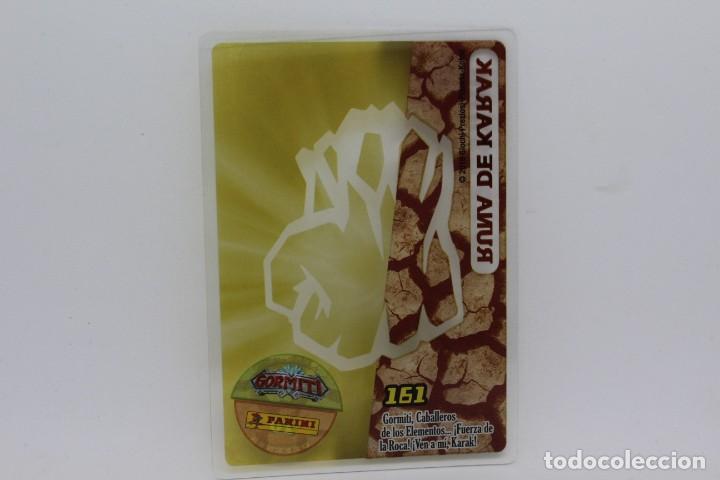 Trading Cards: GORMITI ACTION CARDS DE PANINI - Nº 161 RUNA DE KARAK - Foto 2 - 222376997