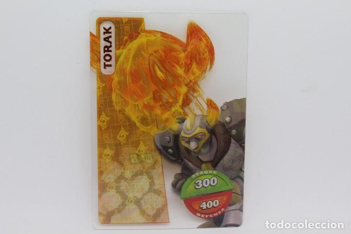 GORMITI ACTION CARDS DE PANINI - Nº 048 TORAK (Coleccionismo - Cromos y Álbumes - Trading Cards)