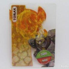 Trading Cards: GORMITI ACTION CARDS DE PANINI - Nº 048 TORAK. Lote 222377313