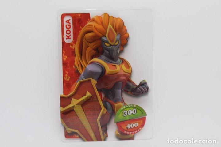 GORMITI ACTION CARDS DE PANINI - Nº 029 KOGA (Coleccionismo - Cromos y Álbumes - Trading Cards)