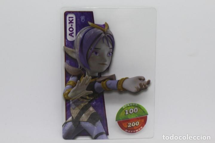 GORMITI ACTION CARDS DE PANINI - Nº 021 AO-KI (Coleccionismo - Cromos y Álbumes - Trading Cards)
