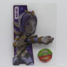 Trading Cards: GORMITI ACTION CARDS DE PANINI - Nº 021 AO-KI. Lote 222377495