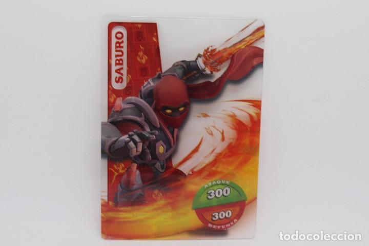 GORMITI ACTION CARDS DE PANINI - Nº 024 SABURO (Coleccionismo - Cromos y Álbumes - Trading Cards)