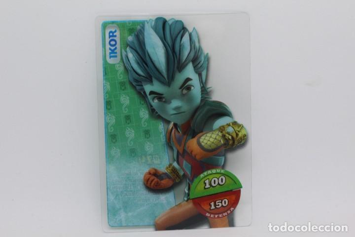 GORMITI ACTION CARDS DE PANINI - Nº 014 IKOR (Coleccionismo - Cromos y Álbumes - Trading Cards)