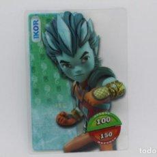 Trading Cards: GORMITI ACTION CARDS DE PANINI - Nº 014 IKOR. Lote 222377920