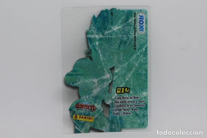 Trading Cards: GORMITI ACTION CARDS DE PANINI - Nº 014 IKOR - Foto 2 - 222377920
