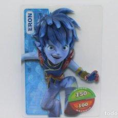 Trading Cards: GORMITI ACTION CARDS DE PANINI - Nº 007 ERON. Lote 222379591