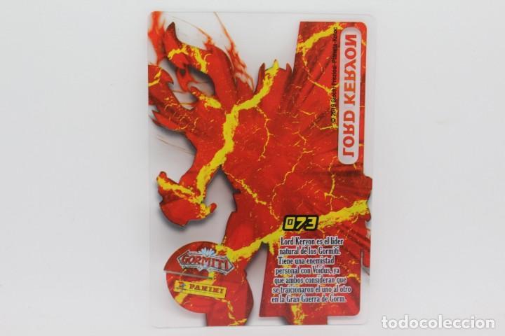 Trading Cards: GORMITI ACTION CARDS DE PANINI - Nº 073 LORD KERYON - Foto 2 - 222379900