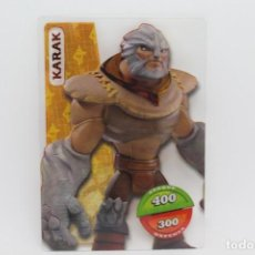 Trading Cards: GORMITI ACTION CARDS DE PANINI - Nº 053 KARAK. Lote 222379932