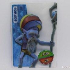 Trading Cards: GORMITI ACTION CARDS DE PANINI - Nº 174 SOPHOS. Lote 222380037