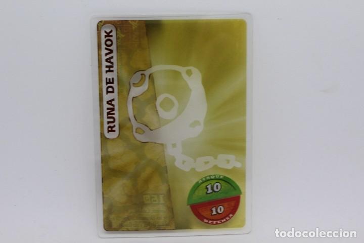 GORMITI ACTION CARDS DE PANINI - Nº 160 RUNA DE HAVOK (Coleccionismo - Cromos y Álbumes - Trading Cards)