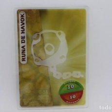 Trading Cards: GORMITI ACTION CARDS DE PANINI - Nº 160 RUNA DE HAVOK. Lote 222380176