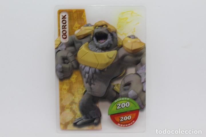 GORMITI ACTION CARDS DE PANINI - Nº 096 GOROK (Coleccionismo - Cromos y Álbumes - Trading Cards)