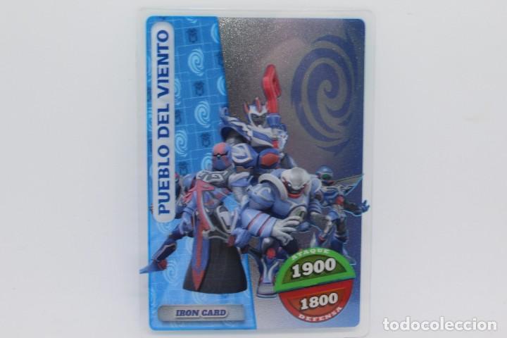 GORMITI ACTION CARDS DE PANINI - Nº 110 PUEBLO DEL VIENTO (Coleccionismo - Cromos y Álbumes - Trading Cards)
