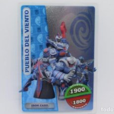 Trading Cards: GORMITI ACTION CARDS DE PANINI - Nº 110 PUEBLO DEL VIENTO. Lote 222380331
