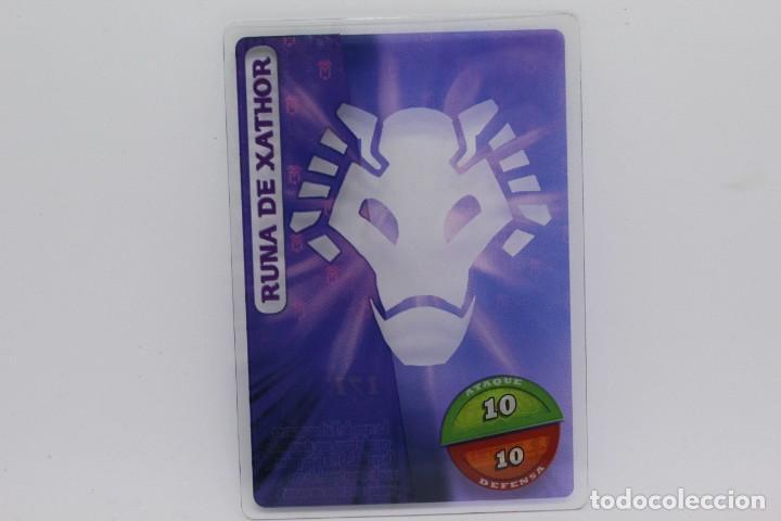 GORMITI ACTION CARDS DE PANINI - Nº 171 RUNA DE XATHOR (Coleccionismo - Cromos y Álbumes - Trading Cards)