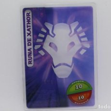 Trading Cards: GORMITI ACTION CARDS DE PANINI - Nº 171 RUNA DE XATHOR. Lote 222380576