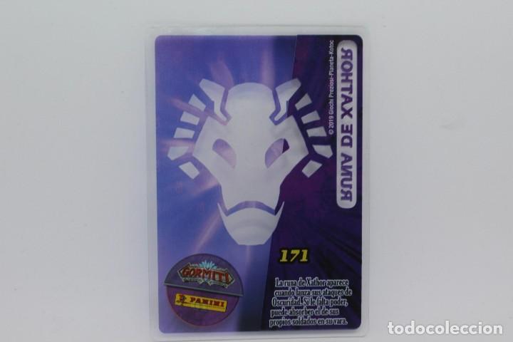 Trading Cards: GORMITI ACTION CARDS DE PANINI - Nº 171 RUNA DE XATHOR - Foto 2 - 222380576