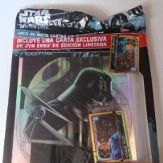 Trading Cards: ALBUM ARCHIVADOR DE CARDS STAR WARS ROGUE ONE PRECINTADO. Lote 222445897