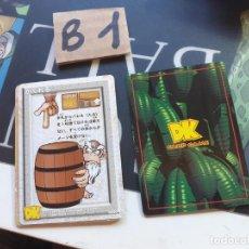 Trading Cards: DONKEY KONG TRADING CARD. Lote 222455056