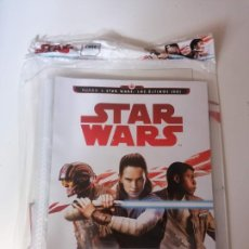 Trading Cards: ALBUM ARCHIVADOR DE CARDS RUMBO A STAR WARS LOS ULTIMOS JEDI. Lote 222471295