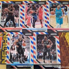 Trading Cards: LOTE 5 CARDS PANINI PRIZM 2018-19 DINWIDDIE BAREA GREEN CONLEY CARTER PRIZM RED BLUE WHITE. Lote 222882012