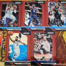 Trading Cards: LOTE 5 CARDS PANINI PRIZM 2018-19 JACKSON LEE BAREA GIBSON CRABBE PRIZM RUBY. Lote 222882586