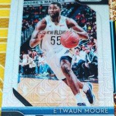Trading Cards: CARD PANINI PRIZM 2018-19 E´TWAUN MOORE NEW ORLEANS PELICANS PRIZM MOJO Nº 15/25. Lote 222883776