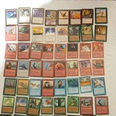 Trading Cards: MAGIC EL ENCUENTRO DECKMASTER ERA GLACIAL 60 CARTAS .UN JUEGO DE RICHARD GARFIELD. Lote 223711136