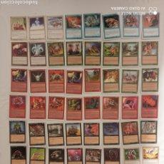 Trading Cards: MAGIC EL ENCUENTRO 60 CARTAS COLECCIÓNABLES. Lote 223712273