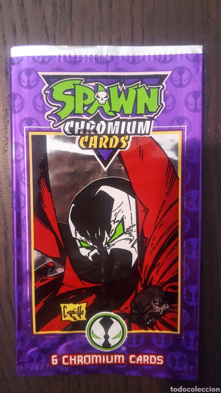 Trading Cards: Trading cards - sobres vacios - Vampirella, Groo, Spawn, The Maxx, - Topps, Wildstorm, Image comics - Foto 5 - 224450403