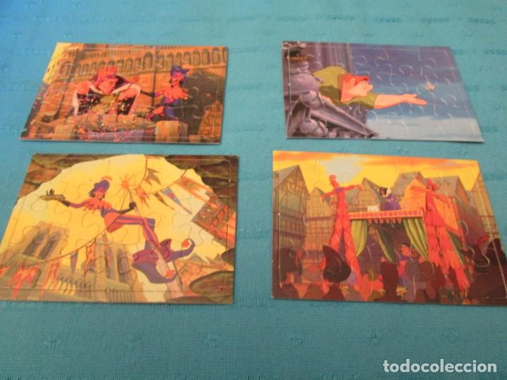 THE HUNCHBACK OF NOTRE DAME PUZLES (Coleccionismo - Cromos y Álbumes - Trading Cards)