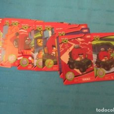 Trading Cards: ANGRY BIRDS GO LOTE. Lote 224707668