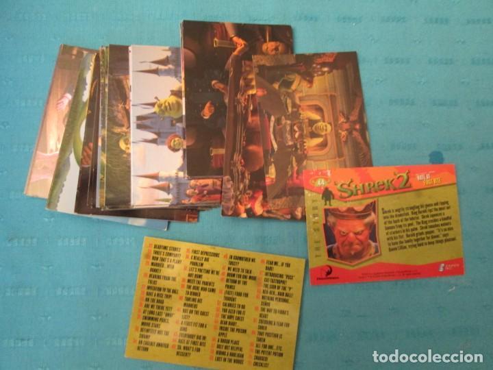 SHREK 2 LOTE (Coleccionismo - Cromos y Álbumes - Trading Cards)