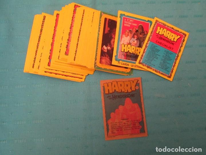 HARRY Y LOS HENDERSONS CHICLE TOPPS LOTE (Coleccionismo - Cromos y Álbumes - Trading Cards)