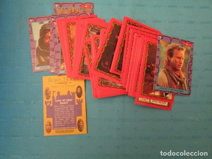 ROBIN HOOD LOTE (Coleccionismo - Cromos y Álbumes - Trading Cards)
