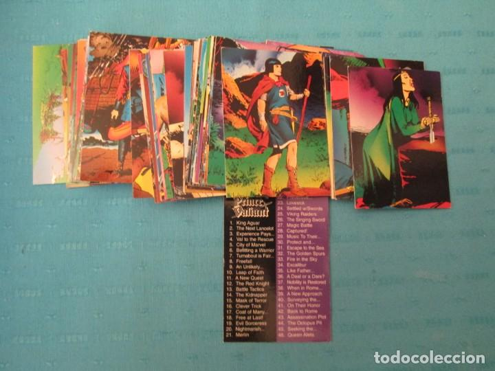 PRINCE VALIANT LOTE (Coleccionismo - Cromos y Álbumes - Trading Cards)