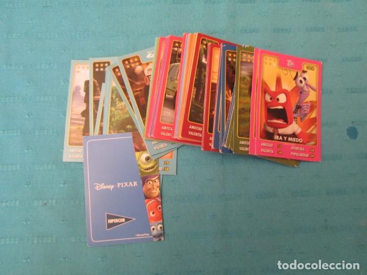 DISNEY PIXAR HIPERCOR LOTE (Coleccionismo - Cromos y Álbumes - Trading Cards)