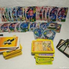 Trading Cards: LOTAZO DE TARJETAS DRAGÓNBALL , CROMOS DE FÚTBOL,ETC.... Lote 225551886