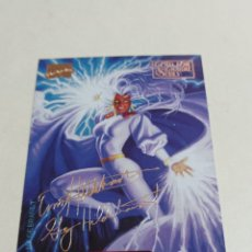 Trading Cards: MARVEL MASTERPIECES 118. Lote 226472490
