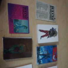 Trading Cards: LOTE DE 90 TRADING CARDS: THE ALIEN WORLD OF WAYNE BARLOWE. 1994... Lote 226662480