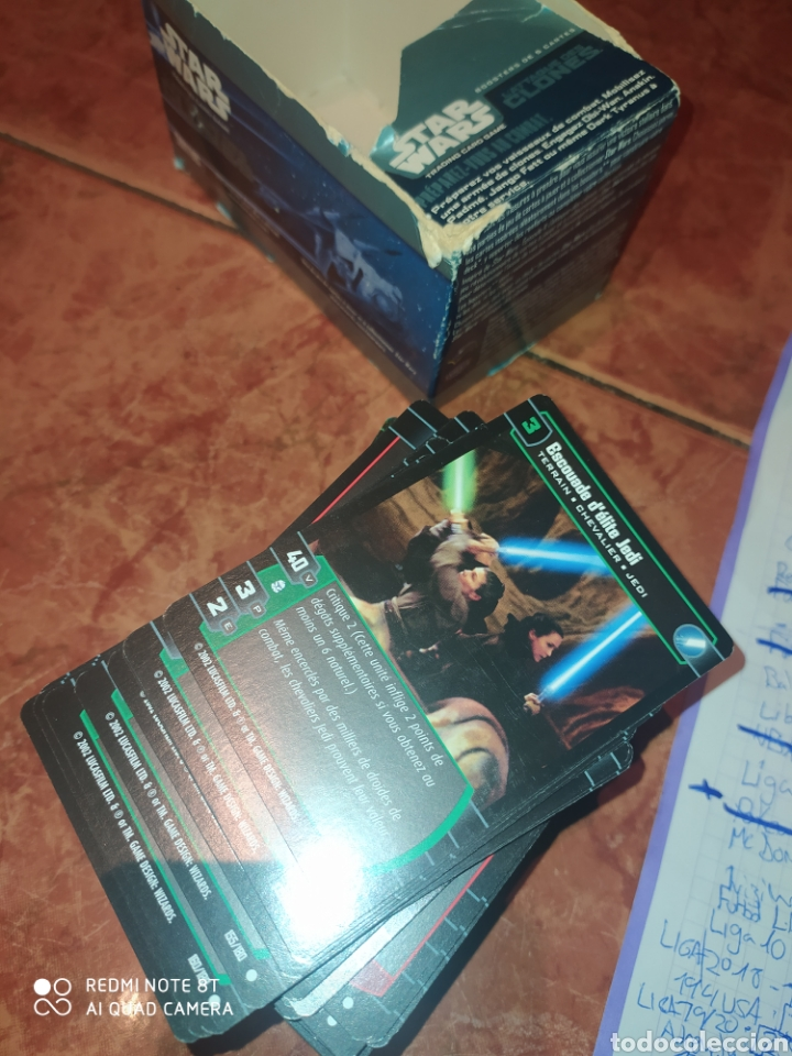 Trading Cards: 150 TRADING CARDS STAR WARS l ataqué des clones - Foto 7 - 228937715