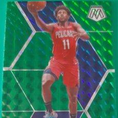 Trading Cards: CARD PANINI MOSAIC NBA JRUE HOLIDAY NEW ORLEANS PELICANS PRIZM GREEN. Lote 257344910