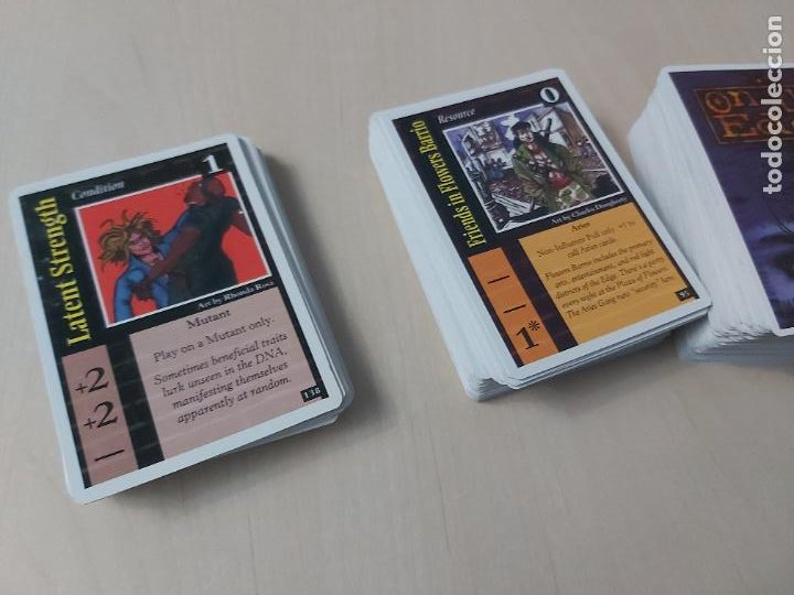 Trading Cards: LOTE 200 CARTAS DIFERENTES- ON THE EDGE - ROL - EN INGLES - - Foto 3 - 232741945