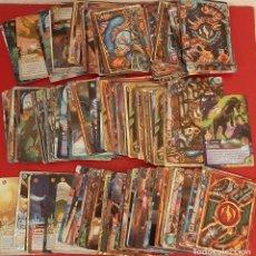 Trading Cards: LOTE 175 CROMO TRADING CARDS CARTA DE ALBUM FANTASY RIDERS PANINI 2018 PLATA ORO BRONCE PLATINO ACER. Lote 233448780