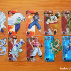Trading Cards: LOTE 10 LAMINCARDS DRAGON BALL Z - SIN REPETIDAS - EN ITALIANO - CARDS - EDIBAS (FU). Lote 234742835