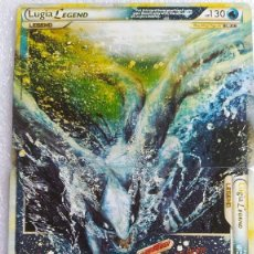 Trading Cards: LUGIA LEGEND HEARTGOLD SOULSILVER 113/124 Y 114/124. BUEN ESTADO. IDIOMA INGLÉS.. Lote 234874635