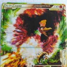Trading Cards: HO-OH LEGEND HEARTGOLD SOULSILVER 111/124 Y 112/124. BUEN ESTADO. IDIOMA INGLÉS.. Lote 234875925