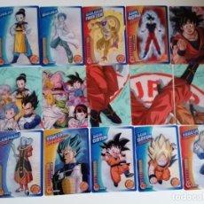 Trading Cards: DRAGON BALL. LOTE 30 CARTAS DIFERENTES. PERFECTO ESTADO (21-30) 2 FOTOS. Lote 236394005